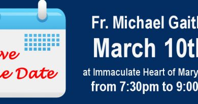Fr. Michael Gaitley at Immaculate Heart of Mary – GR