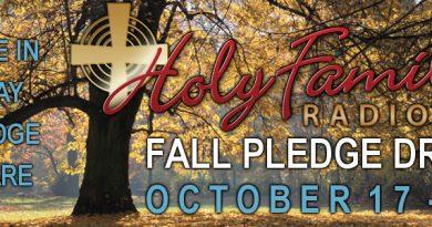 Fall Pledge Drive – 2017