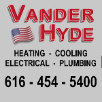 Vander Hyde Heating, Cooling, Electrical & Plumbing
