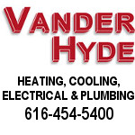 Vander Hyde Heating, Cooling, Electrical And Plumbing